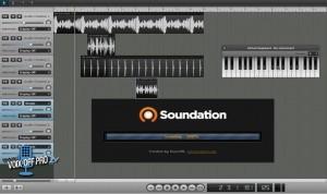 Image soundation logiciel pour créer sa musique