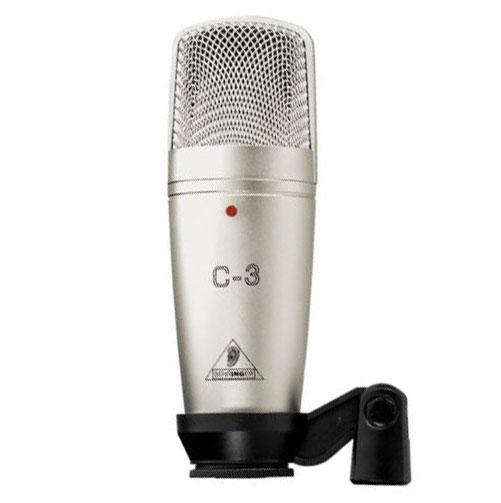 Image du microphone cardioide, omnidirectionnel et spirale Behringer-C3