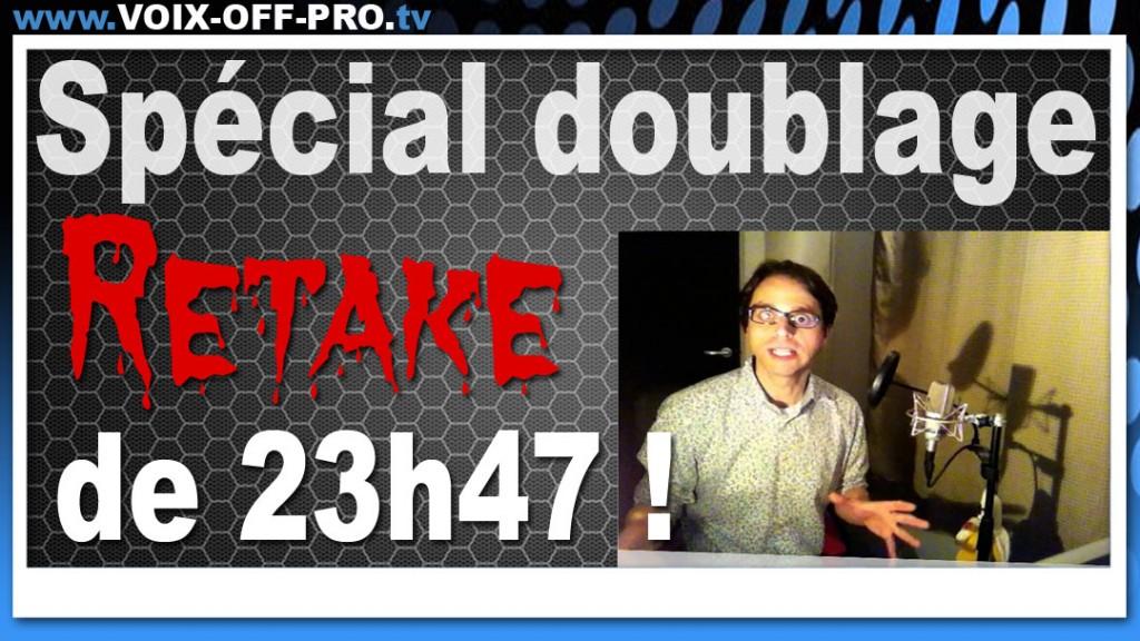 Laissez un commentaire pour accéder à la vidéo privé du retake de 23h47 !