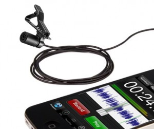 IMage du micro-cravate pour Smartphone