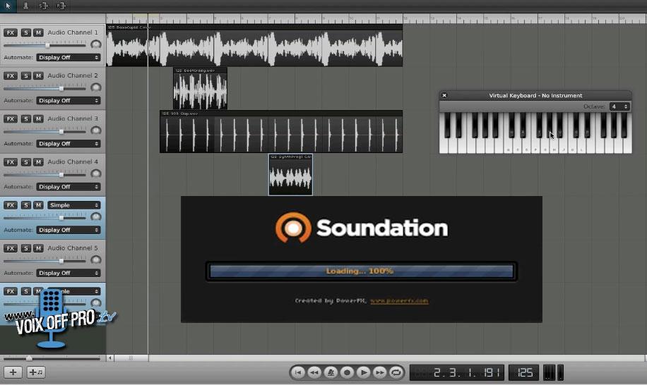 un logiciel pour cr er sa musique en ligne voix off pro devenir voix off et s 39 enregistrer. Black Bedroom Furniture Sets. Home Design Ideas