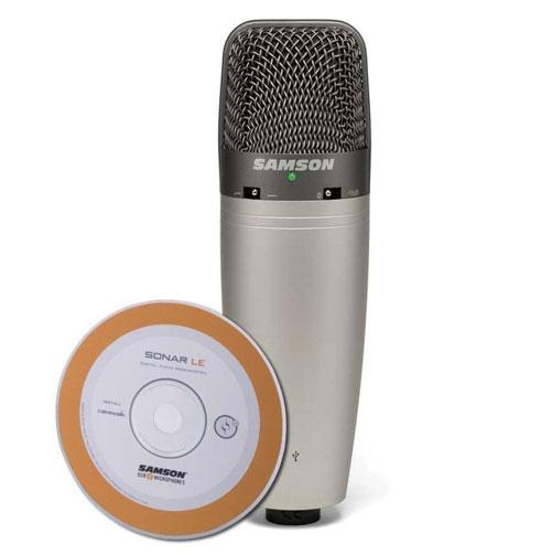 Image du Microphone USB Samson C03U
